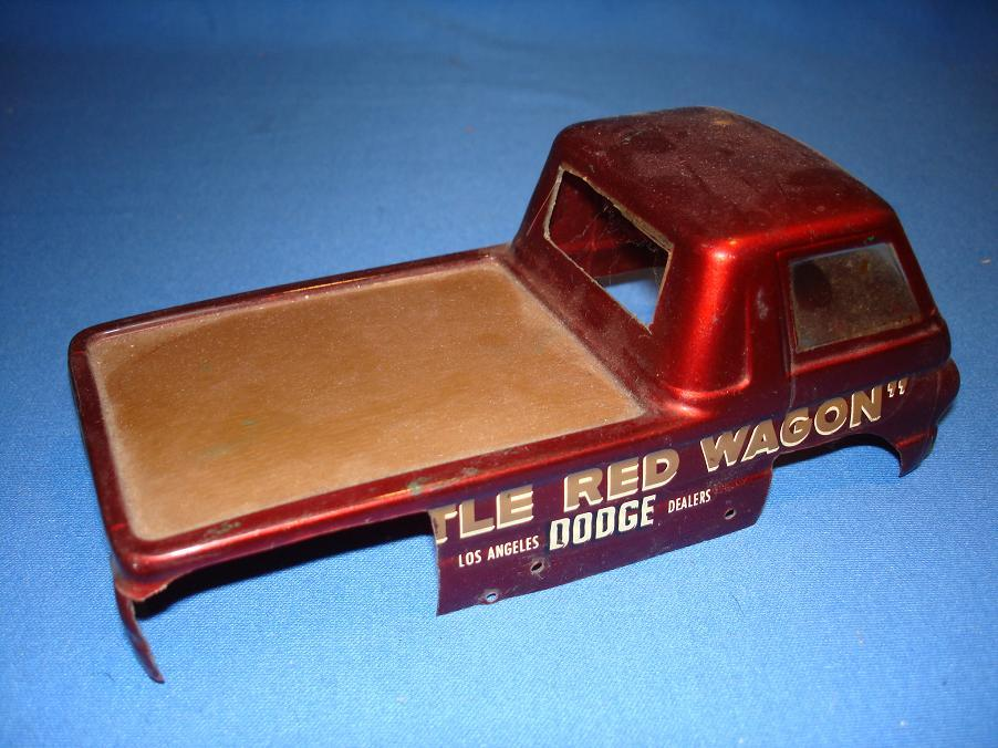 BZ Lil Red Wagon 1:24 Slot Car Body Bed