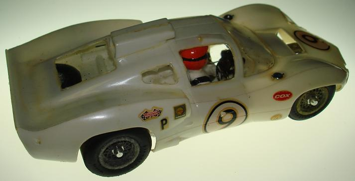 COX 1:24 Scale Chaparral 2D Slot Car Body Driver Side