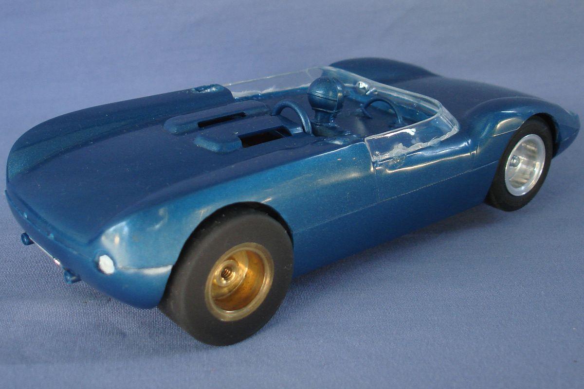 Monogram 1:24 Scale Slot Car Racing Scarab Body Exhaust AJS Wheels