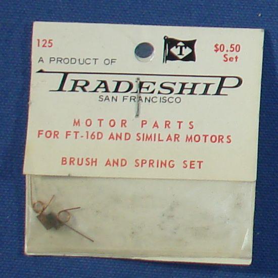 Tradeship San Francisco Made In West Germany Slot Car Racing Parts