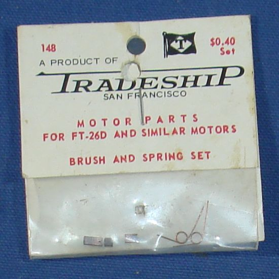 Tradeship San Francisco Made In West Germany Slot Car Racing Parts