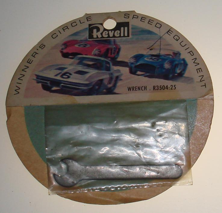 Vintage 1:24 Scale Slot Car Racing Chassis Tool Revell Wrench