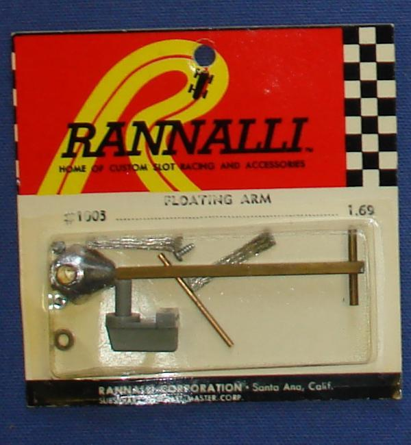 Rannalli Custom 1/24 Scale Slot Car Racing Parts Floating Arm