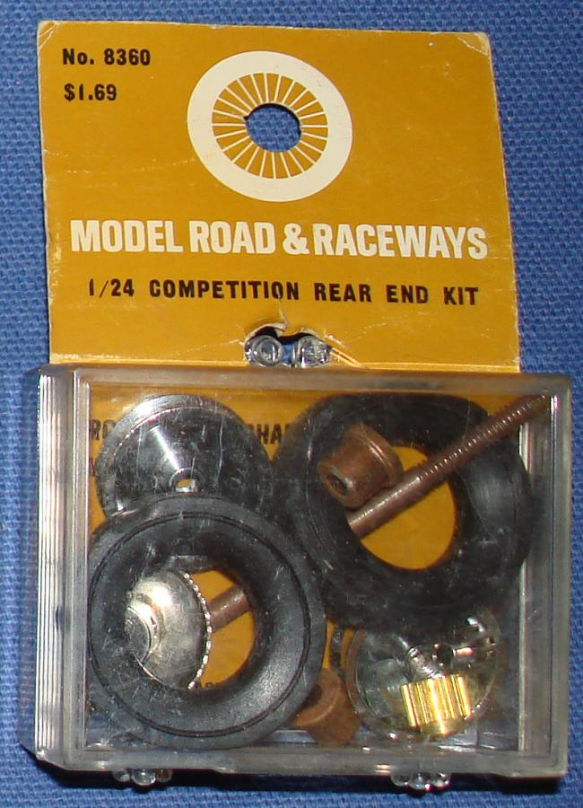 Strombecker 1/24 Electric Road Racing Slot Car Competition Rear End Kit