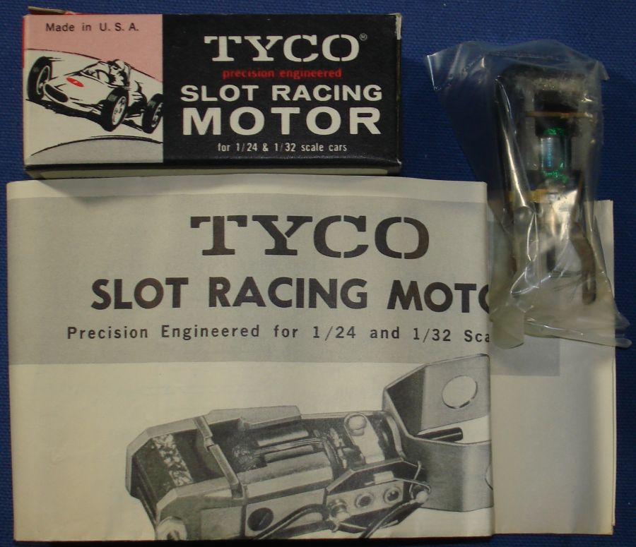 Tyco 1:24 Scale Slot Car Racing Parts Inline 12V Motor