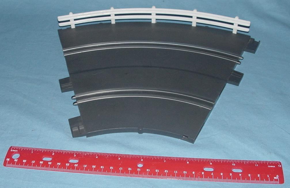 Eldon 1/24 Scale SlotCar Racing White Guard Rail
