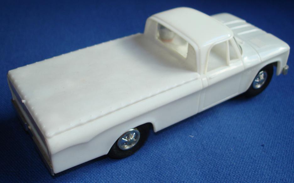 Eldon Dodge Pickup Truck Slot Car