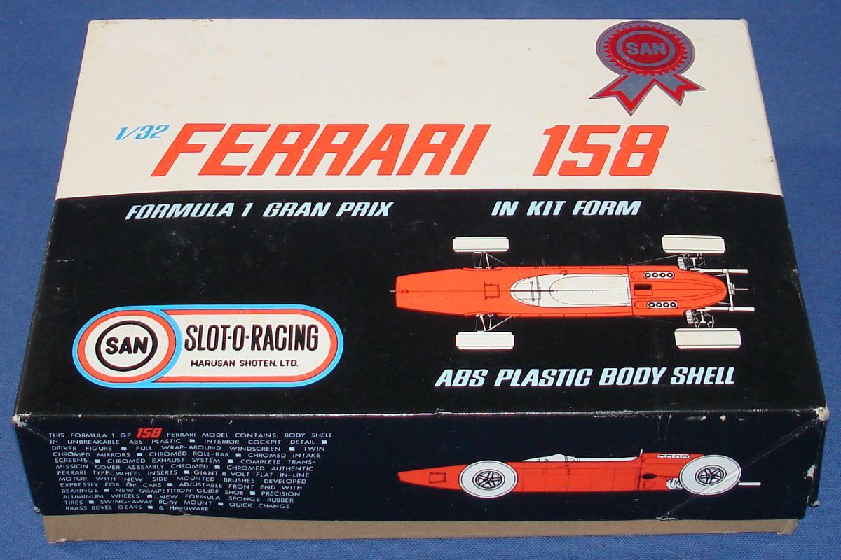 Marusan MIB 1/32 Formula 1 Ferrari Slot Car Box Lid