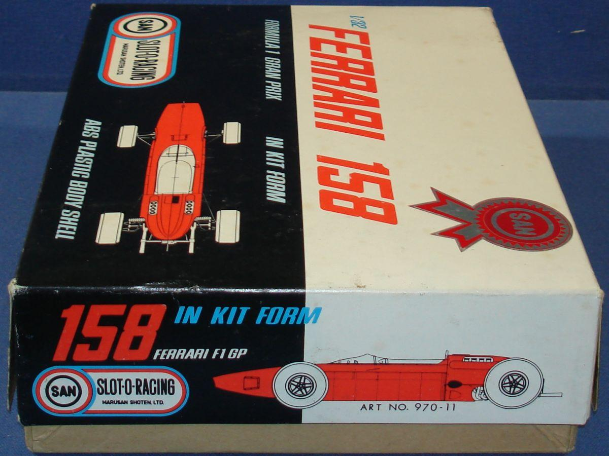 Marusan MIB 1/32 Formula 1 Ferrari Slot Car Box Panel
