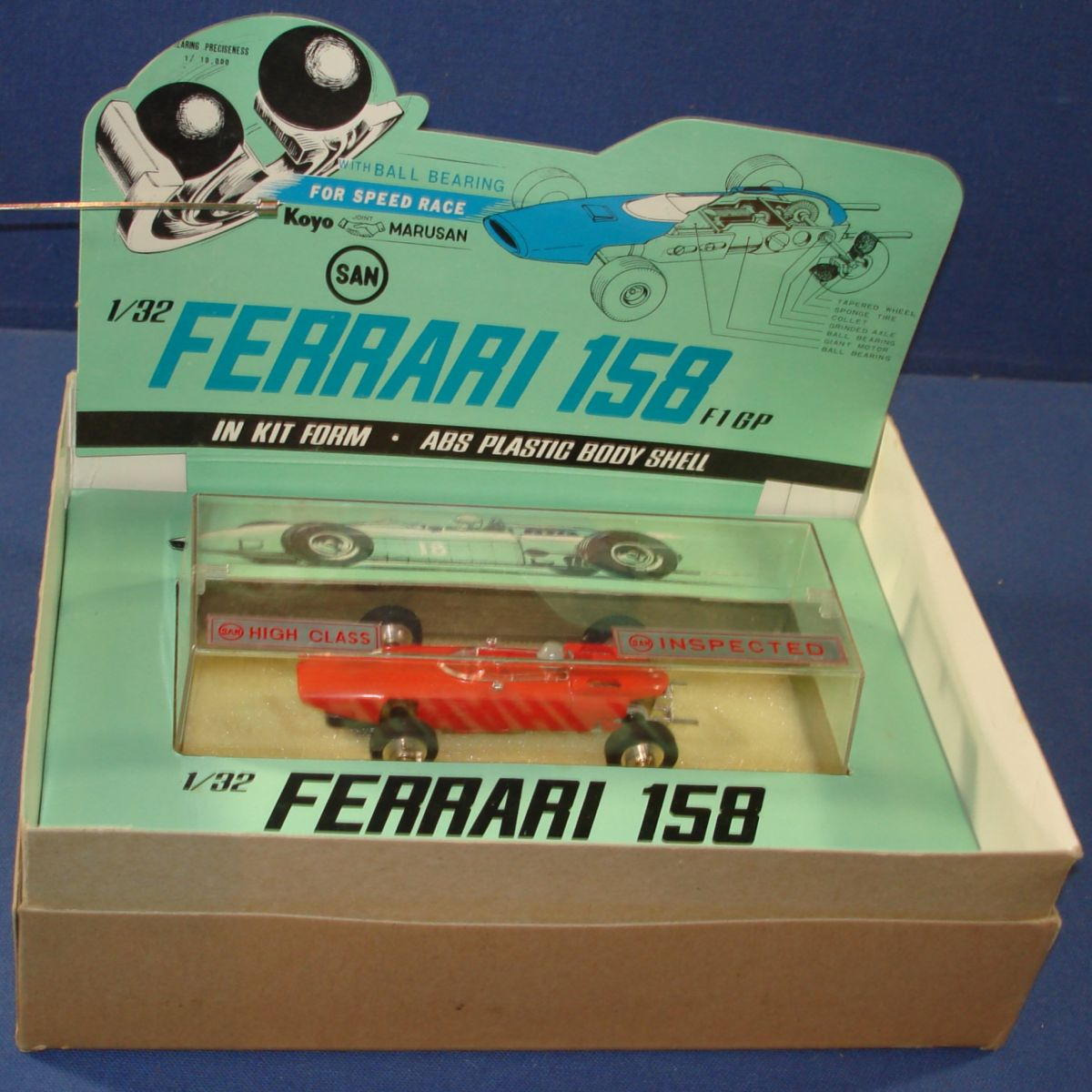 Marusan 1/32 Formula 1 Ferrari MIB Slot Car