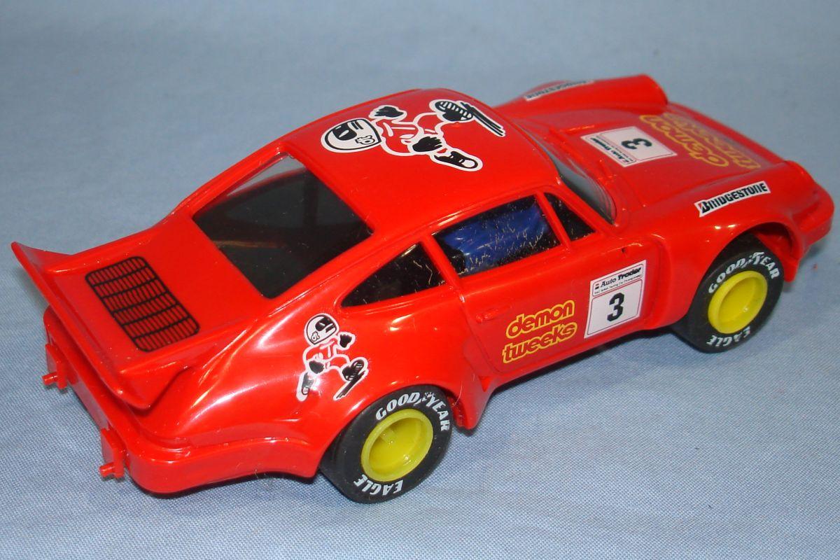 Scalextric Slot Car Racing Red Porsche 911 C394 Spoiler