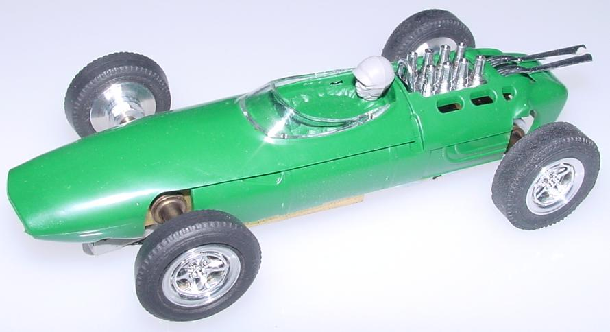 Atlas Brabham BT-3 Formula 1 Gran Prix Slot Car