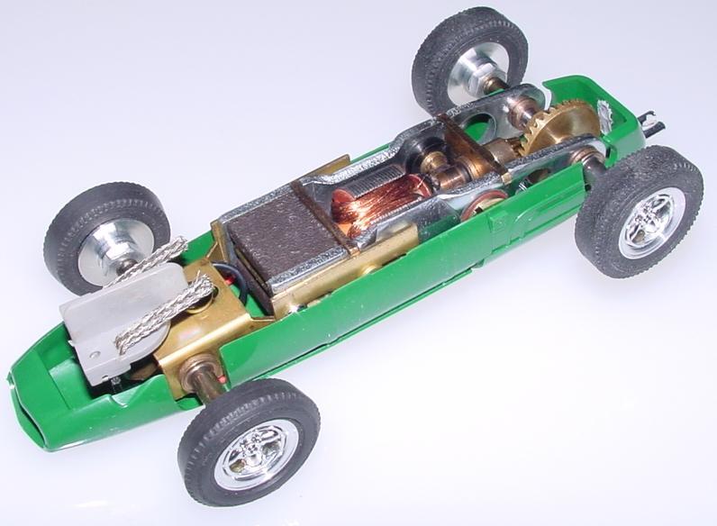Atlas Brabham BT-3 Formula 1 Gran Prix Slot Car Chassis