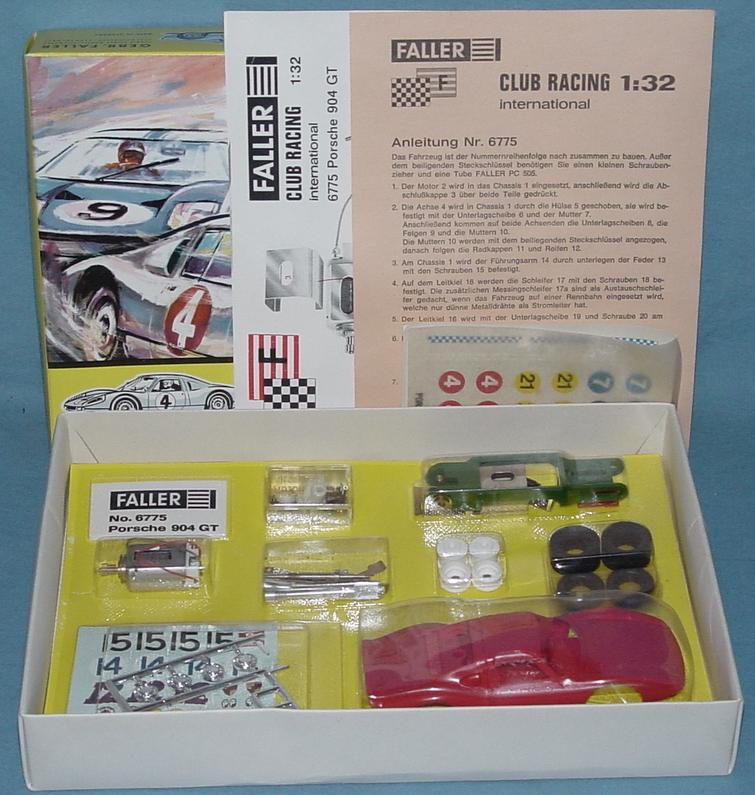 Faller 1/32 Scale Porsche 904 GTS Slot Car Club Racing Kit 6775