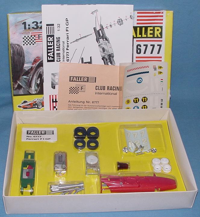 Faller 1:32 Scale Ferrari F1 GP Slot Car Club Racing Kit 6777