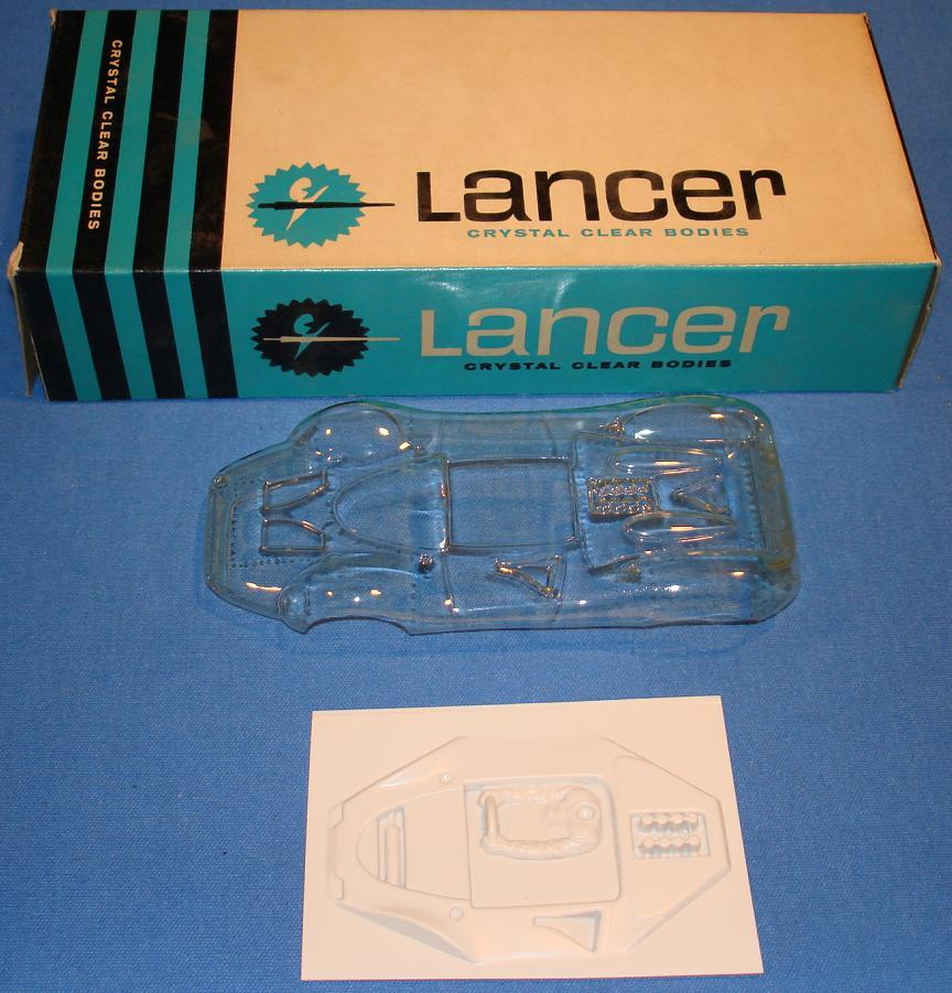 Lancer King Cobra Clear Body Slot Car Racing Body Kit
