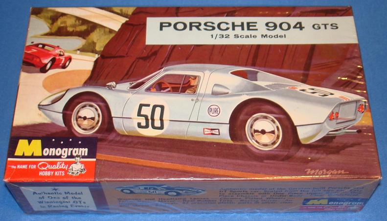 MONOGRAM 1/32 SCALE SLOT CAR RACING FACTORY SEALED PORSCHE 904 GTS MODEL KIT
