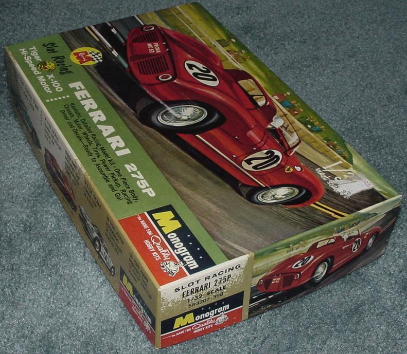 Monogram Ferrari Slot Car Box