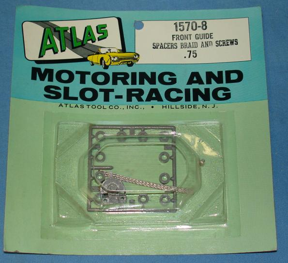 Atlas Slot Car Home Racing Parts #1570-8 Chassis Front Guide