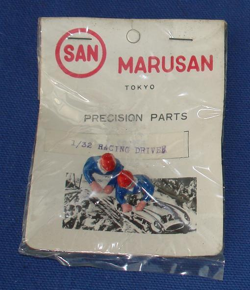 Marusan 132 Scale Hand Painted Precision Slot Car Racing Drivers