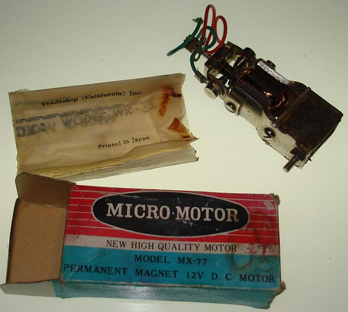 1 32 or 1 24 scale slot car parts nmib micro motor for Perm 132 motor for sale