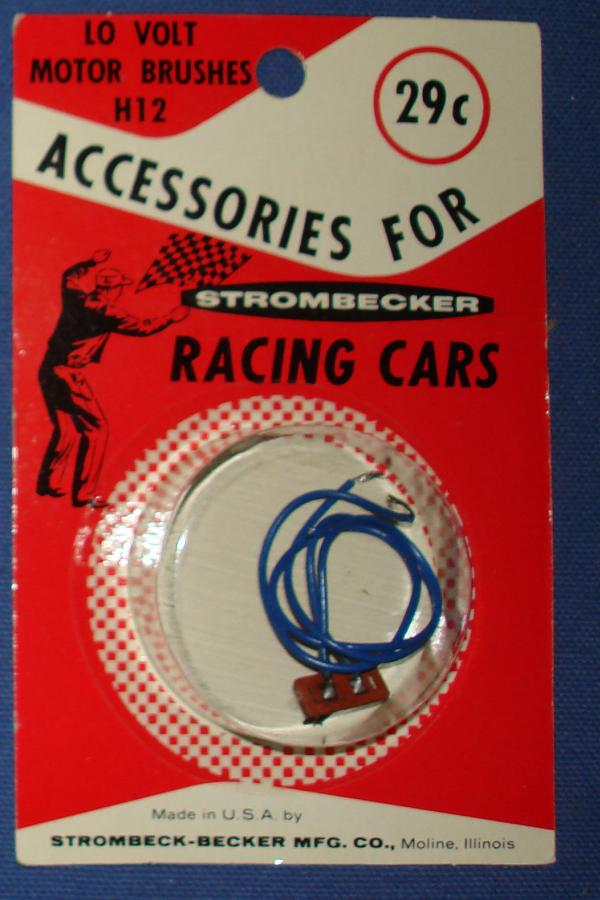 Strombecker 1/32 Electric Road Racing Slot Car Parts Lo Volt Motor Brushes