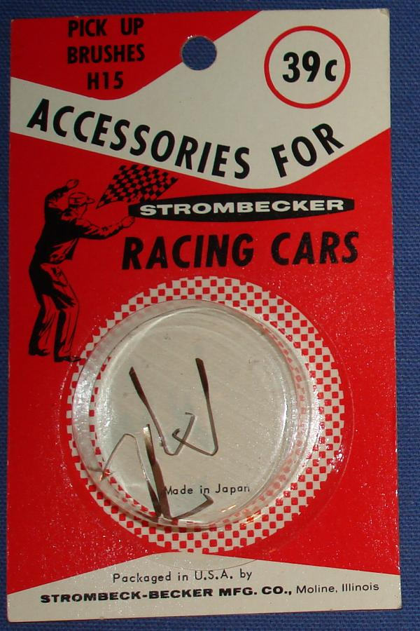 Strombecker 1/32 Electric Road Racing Slot Car Parts Pick Up Brushes