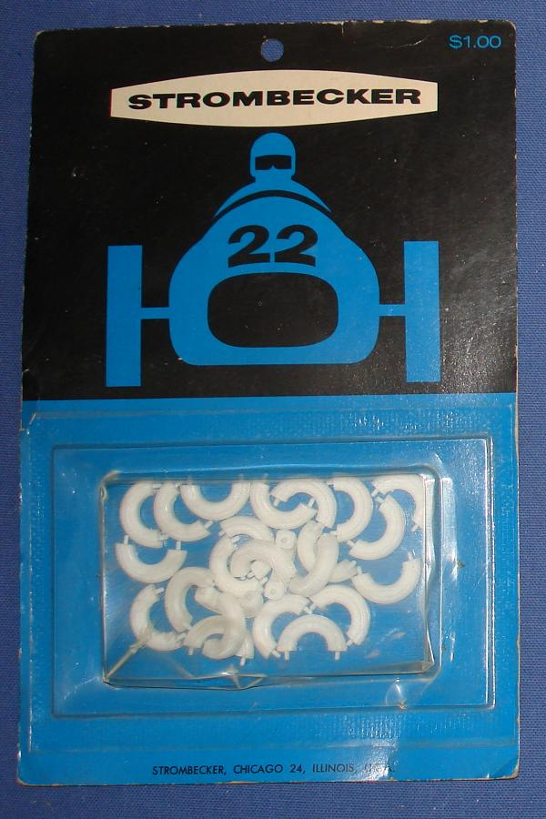 Strombecker 1/32 Electric Road Racing Slot Car Track Accessories Tire Halves 9130