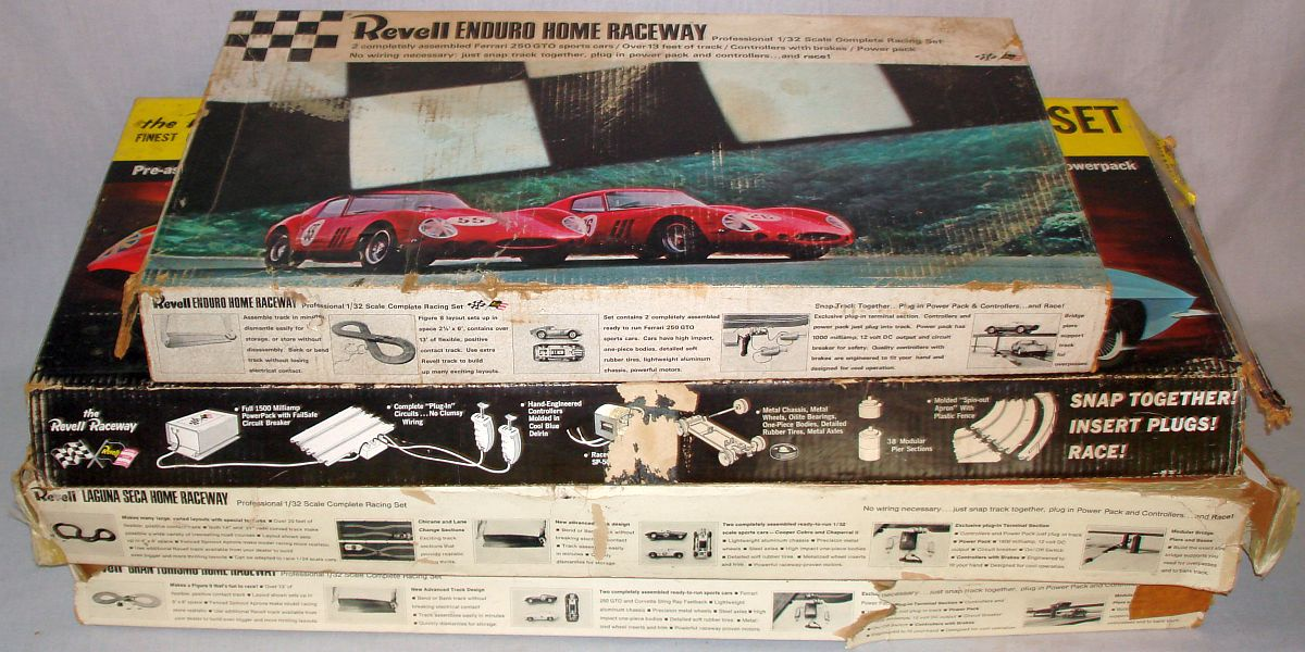 Revell Home Raceway 1:32 Scale Slot Car Racing Track Sets