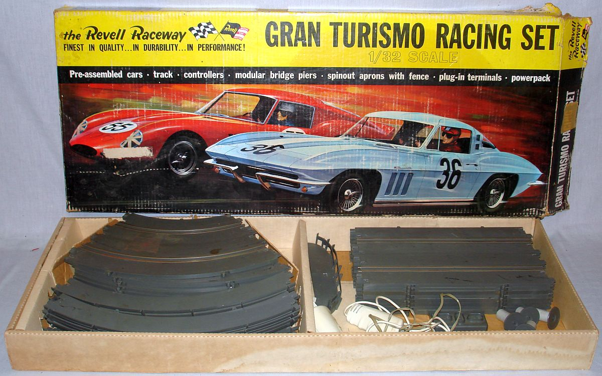 Revell Home Raceway 1:32 Scale Slot Car Racing Gran Turismo Track Set R3000:4000