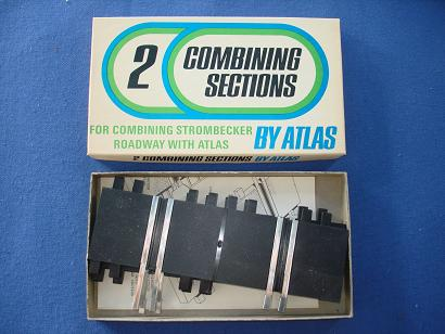 Atlas 124 132 Slot Car Racing Strombecker Combining Track #1537-129