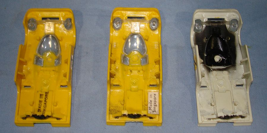 AFX Flamethrower Porsche 917 Slot Car Racing Body Chassis Mounts