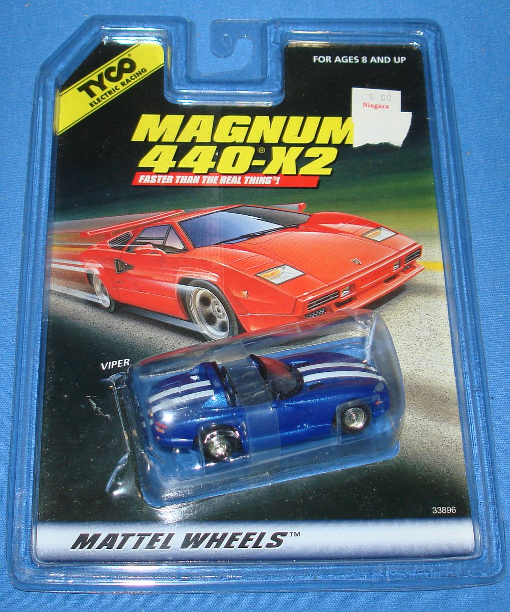 Tyco S Speedway HO Scale Chevrolet Split Window Corvette Slot Car Runner Body Hood Roof