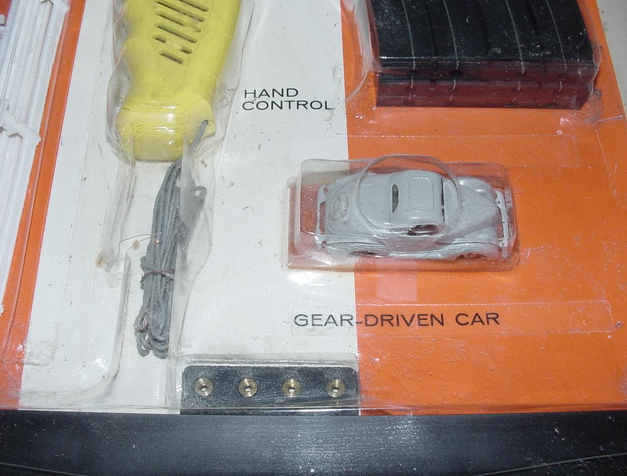 HO Scale Slot Car Track