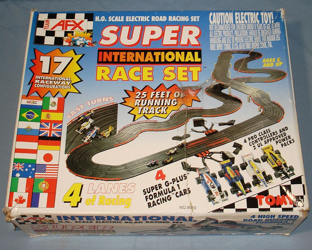 Ho scale electric slot racing cars youtube