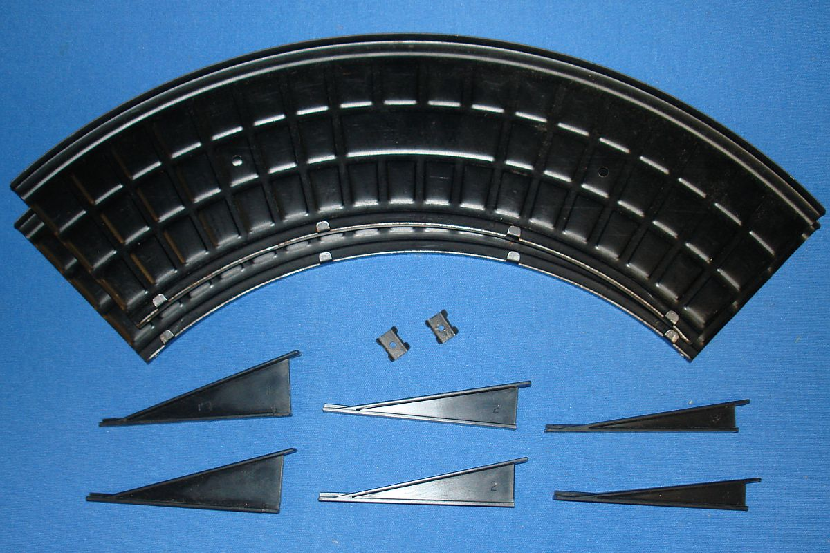Aurora Model Motoring HO Scale Slot Car Racing Specialty Track Banked Curve Adapters #1463