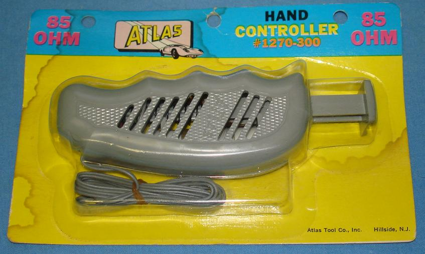 Atlas HO Slot Car Racing Track Grey Hand Controller #1270-300