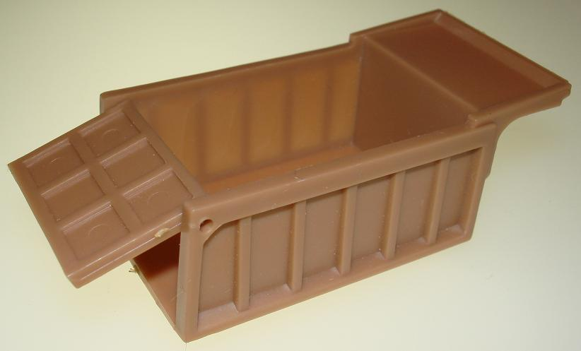 Aurora Prototype Tan Slot Car Dump Truck Bed