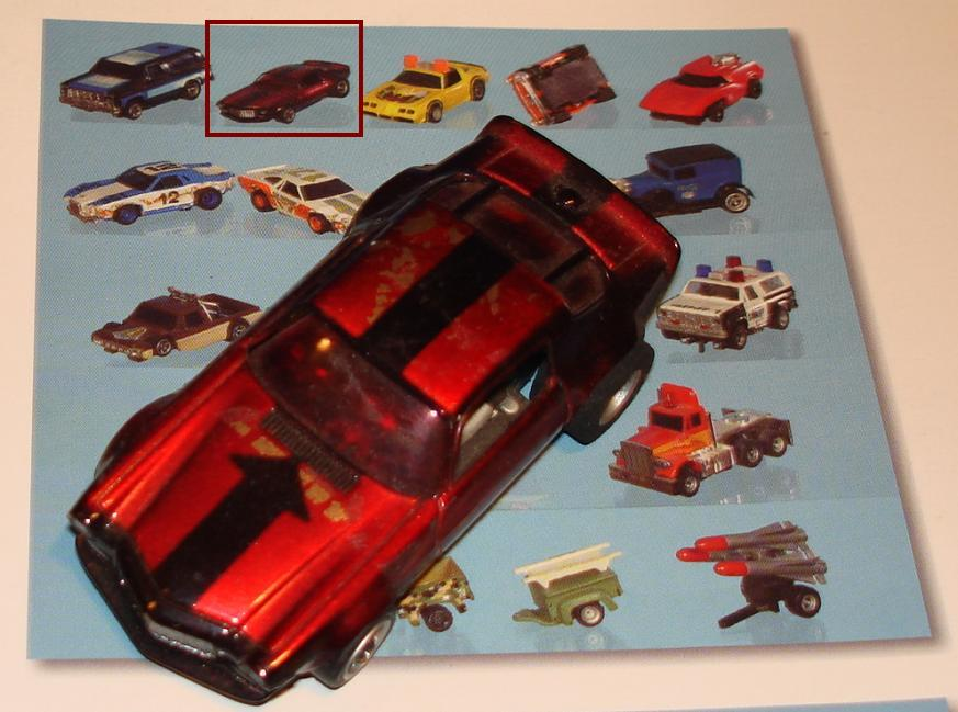 AFX Chevroltet Camaro Hand Built Candy Apple Red Chrome Slot Car Prototype Documentation