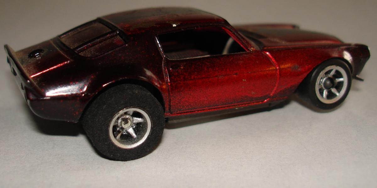 AFX Chevroltet Camaro Hand Built Candy Apple Red Chrome Slot Car Prototype Passenger Side Door