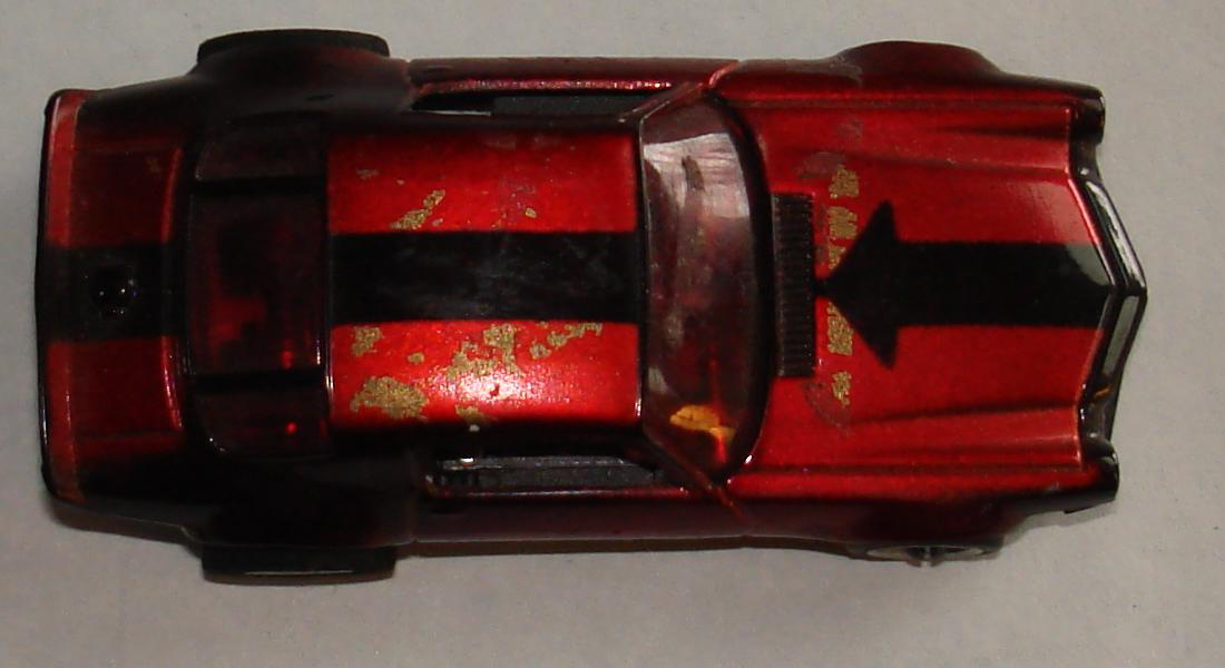 AFX Chevroltet Camaro Hand Built Candy Apple Red Chrome Slot Car Prototype Trunk Roof Hood