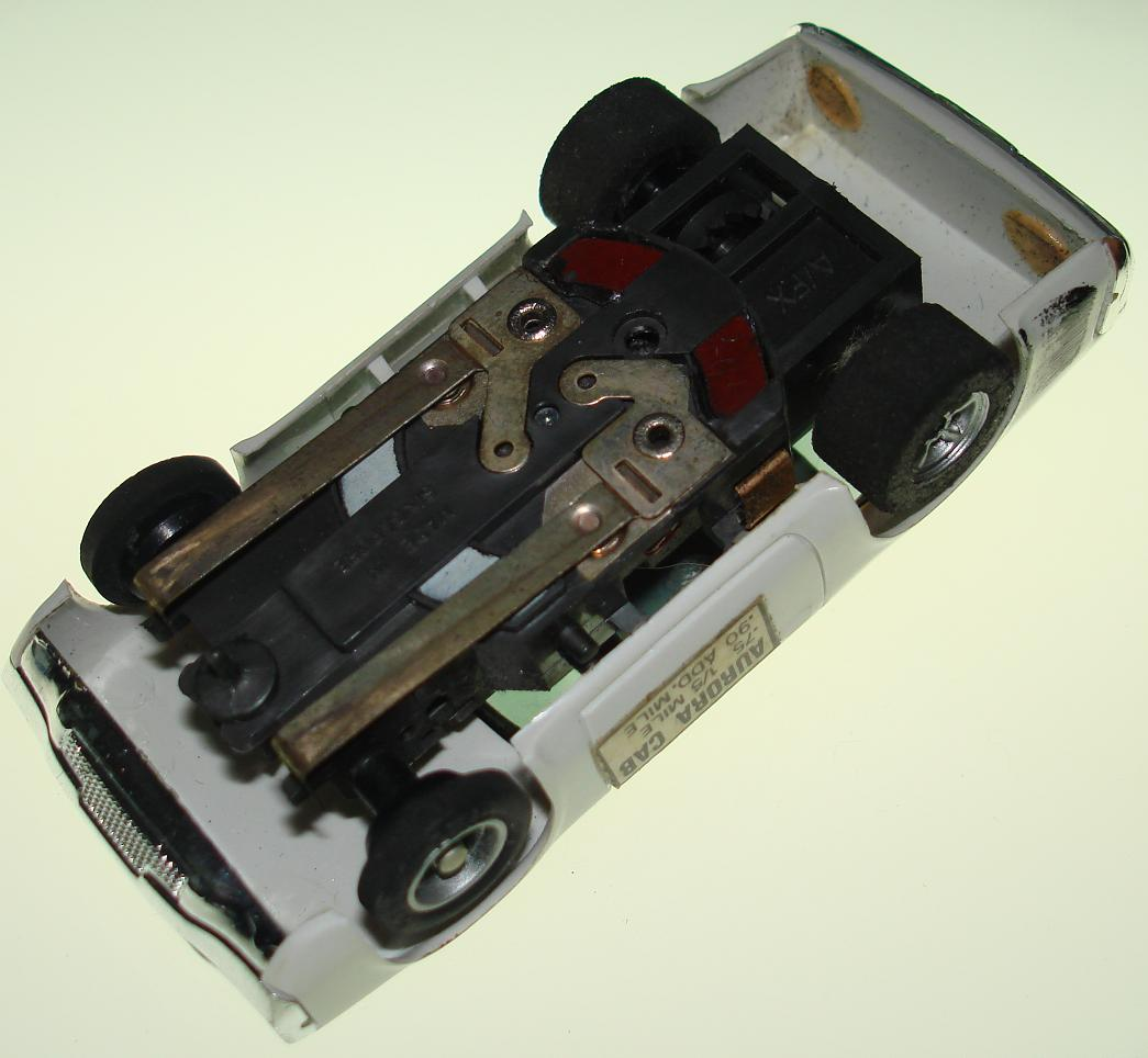 AMC Matador Taxi Cab Slot Car