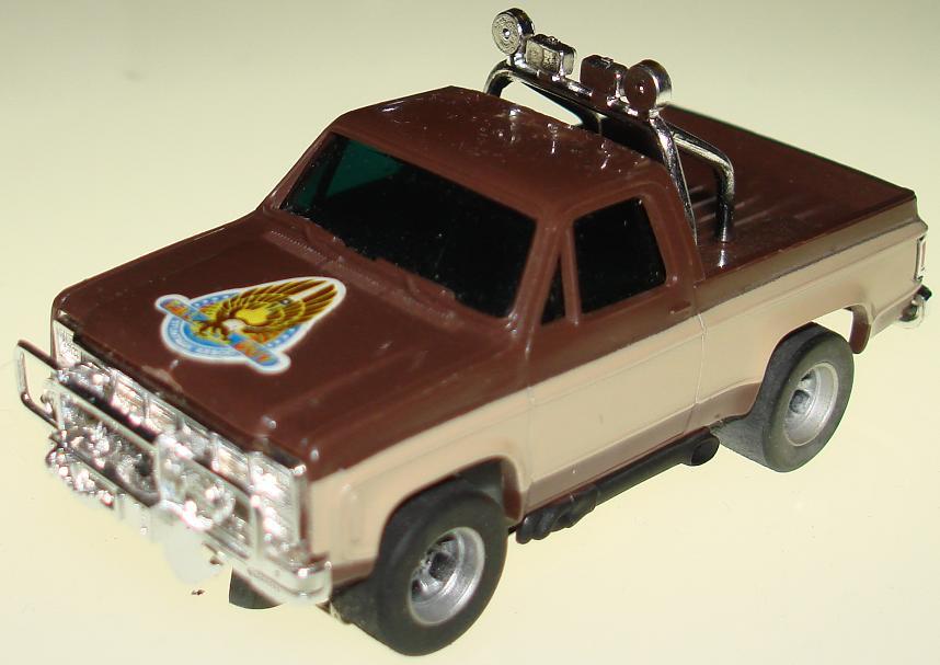 lee majors colt seavers gmc afx slotcar ho pickup truck. Black Bedroom Furniture Sets. Home Design Ideas