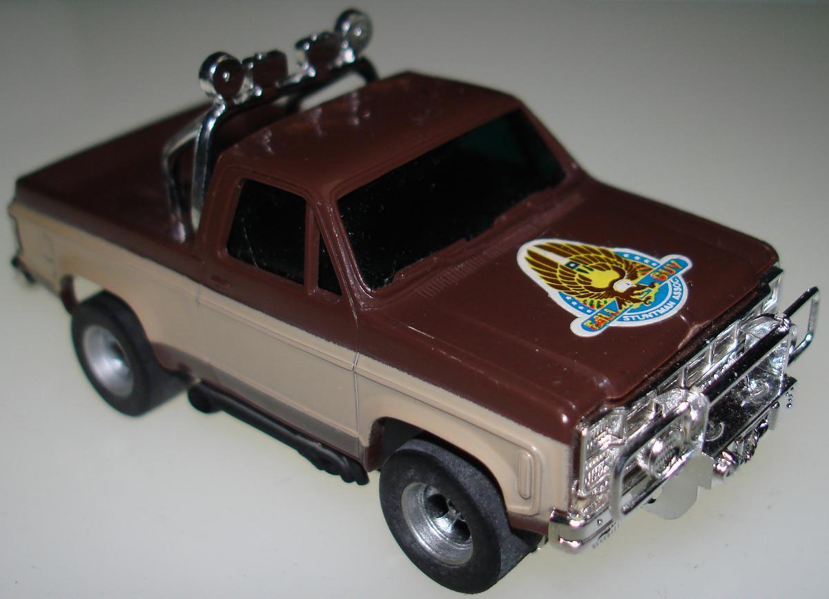 majors colt seavers gmc afx slotcar ho pickup truck fall. Black Bedroom Furniture Sets. Home Design Ideas