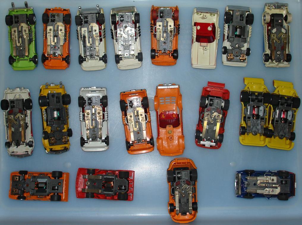 Box 20 Group 20 Slot Car Chassis