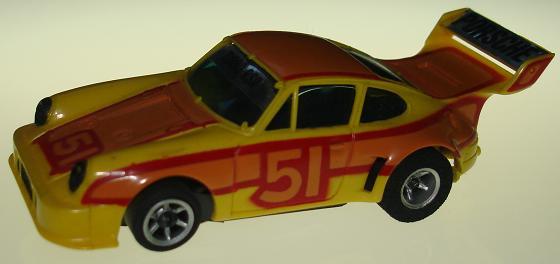 AFX Porsche Turbo 934 Slot Car Runner