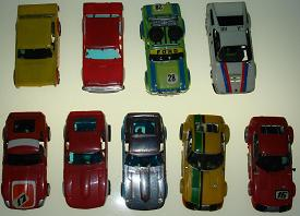 Slot Cars For Sale Box 28 Group 9 SlotCar Racing Items 1-9