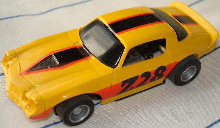 Tyco 1979 Chevrolet Chevy Camaro Z28 HO Slot Car Runner