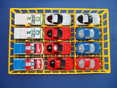 BOX 42 Nascar Tomy HO Slot Cars