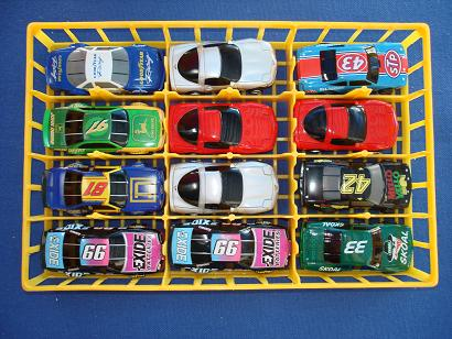 Box 43 Nascar Life Like HO Slot Cars